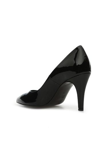 Divarese Divarese 5024731 Deri Kösele Nlı Rugan Topuklu Ayakkabı Siyah
